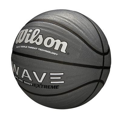 Wilson Wave Pure Shot Extreme Basketball - Grey - Angled