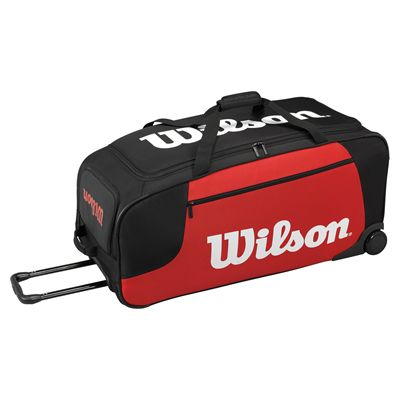 Wilson Wheeled Travel Holdall - Laying Down