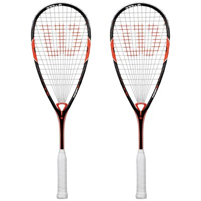 Wilson Whip 145 BLX Squash Racket Double Pack SS15
