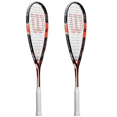 Wilson Whip 145 BLX Squash Racket Double Pack SS15 - Site