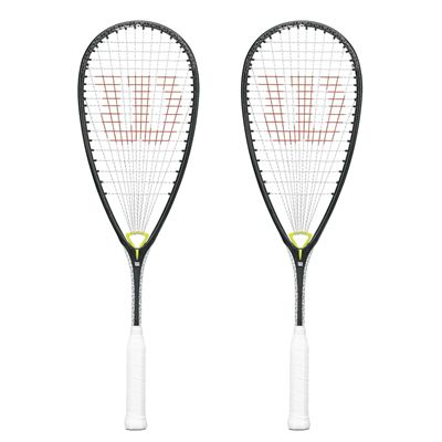 Wilson Whip 145 BLX Squash Racket Double Pack