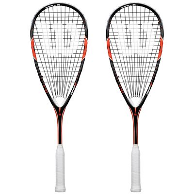 Wilson Whip 155 BLX Squash Racket Double Pack