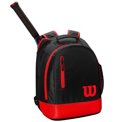 Wilson Youth Backpack - Black- In Use