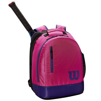 Wilson Youth Backpack - Pink- In Use