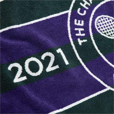 Wimbledon Championship 2021 Towel - Green - Zoom