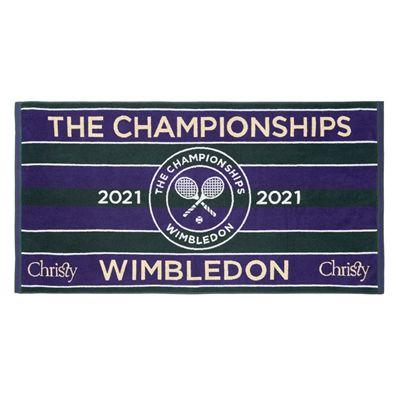 Wimbledon Championship 2021 Towel - Green