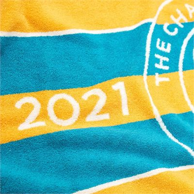 Wimbledon Championship 2021 Towel - Turquoise - Zoom