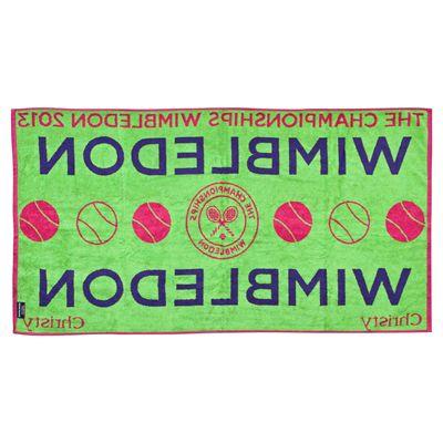 Wimbledon Ladies Championship Towel 2013 - Alternative View