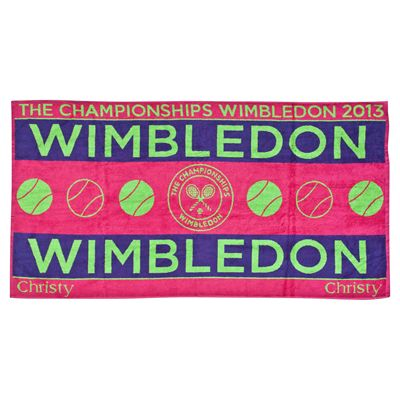 Wimbledon Ladies Championship Towel 2013