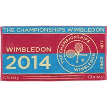 Wimbledon Ladies Championship Towel 2014