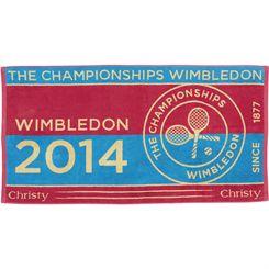 Wimbledon Ladies Championship Towel 2014