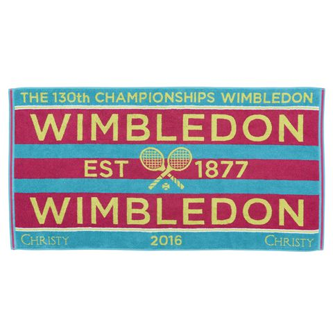 Wimbledon Ladies Championship Towel 2016