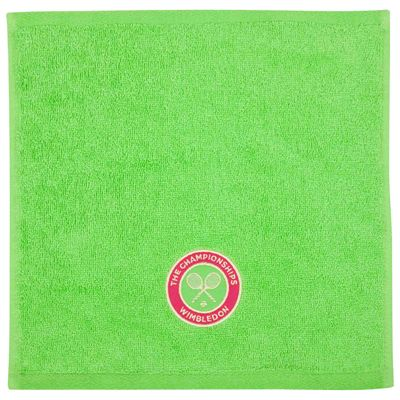 Wimbledon Ladies Face Cloth Double Pack - Apple