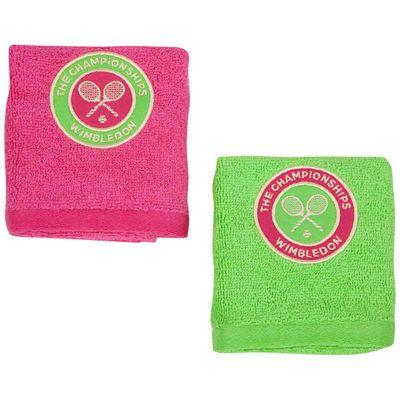Wimbledon Ladies Face Cloth Double Pack