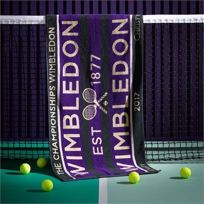 Wimbledon Mens Championship 2017 Towel - 1