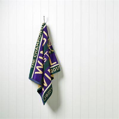 Wimbledon Mens Championship 2017 Towel - 3