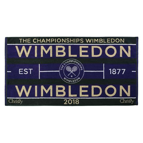 Wimbledon Mens Championship 2018 Towel