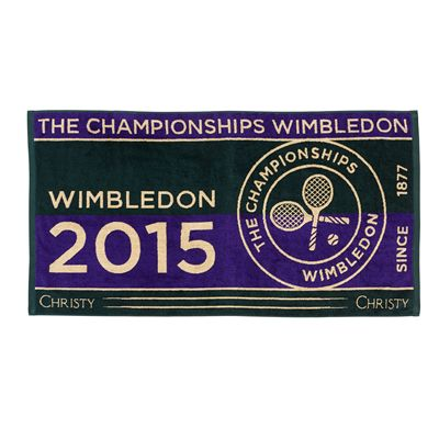 Wimbledon Mens Championship Towel 2015