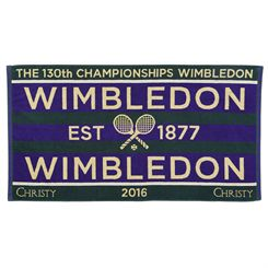 Wimbledon Mens Championship Towel 2016