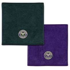 Wimbledon Mens Face Cloth Double Pack
