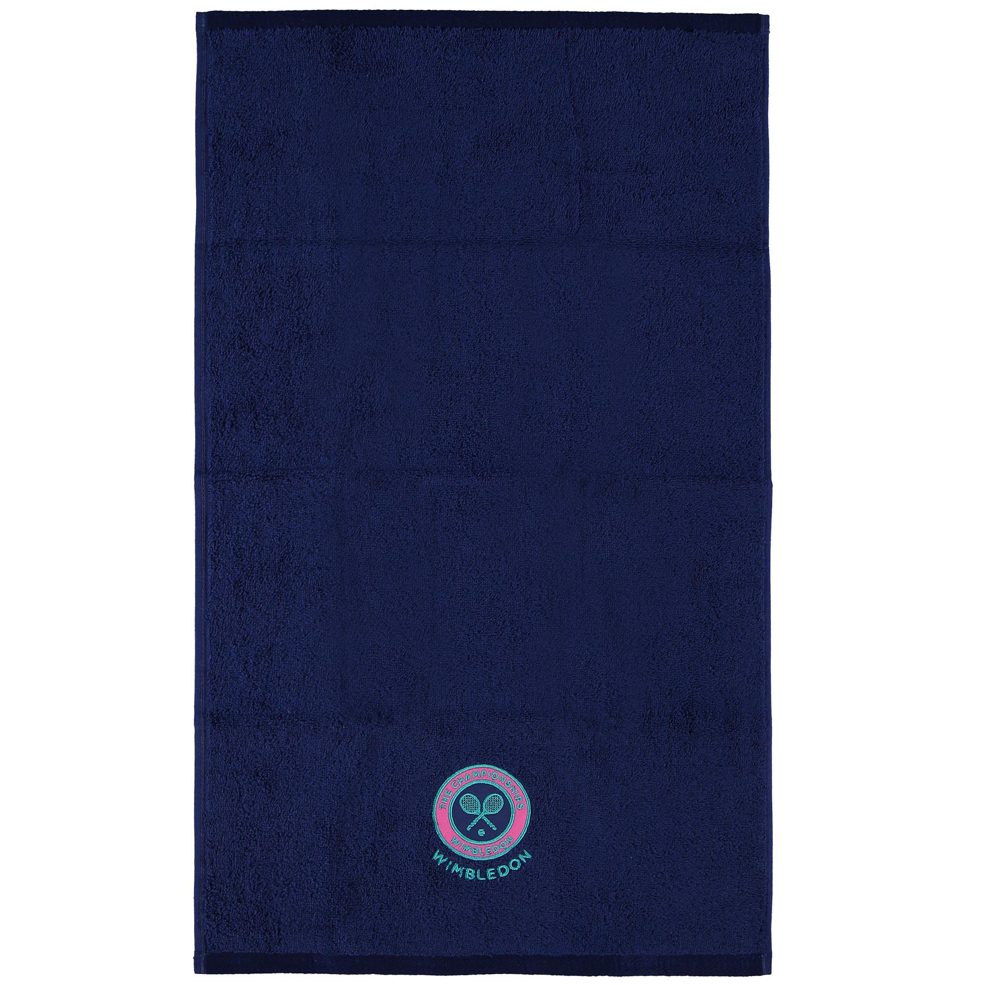 Best Mens Gym Towel: Wimbledon Mens Guest Towel - Purple