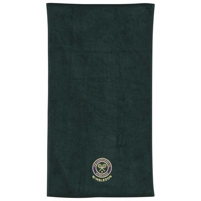 Wimbledon Mens Guest Towel - Green