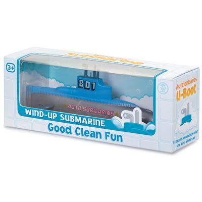 Wind Up Submarine Box