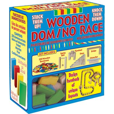 Wooden Domino Race Box