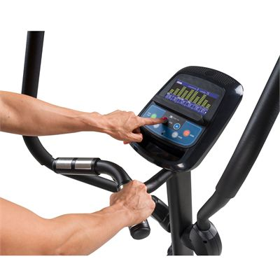 Xterra Free Style 3.5 Elliptical Cross Trainer - lifestyle console