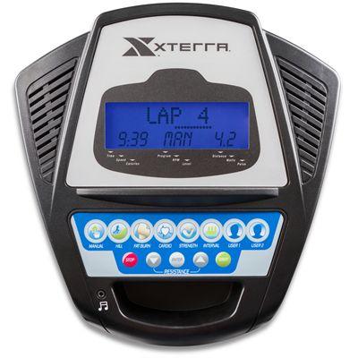 Xterra Free Style 4.0e Elliptical Cross Trainer Console View