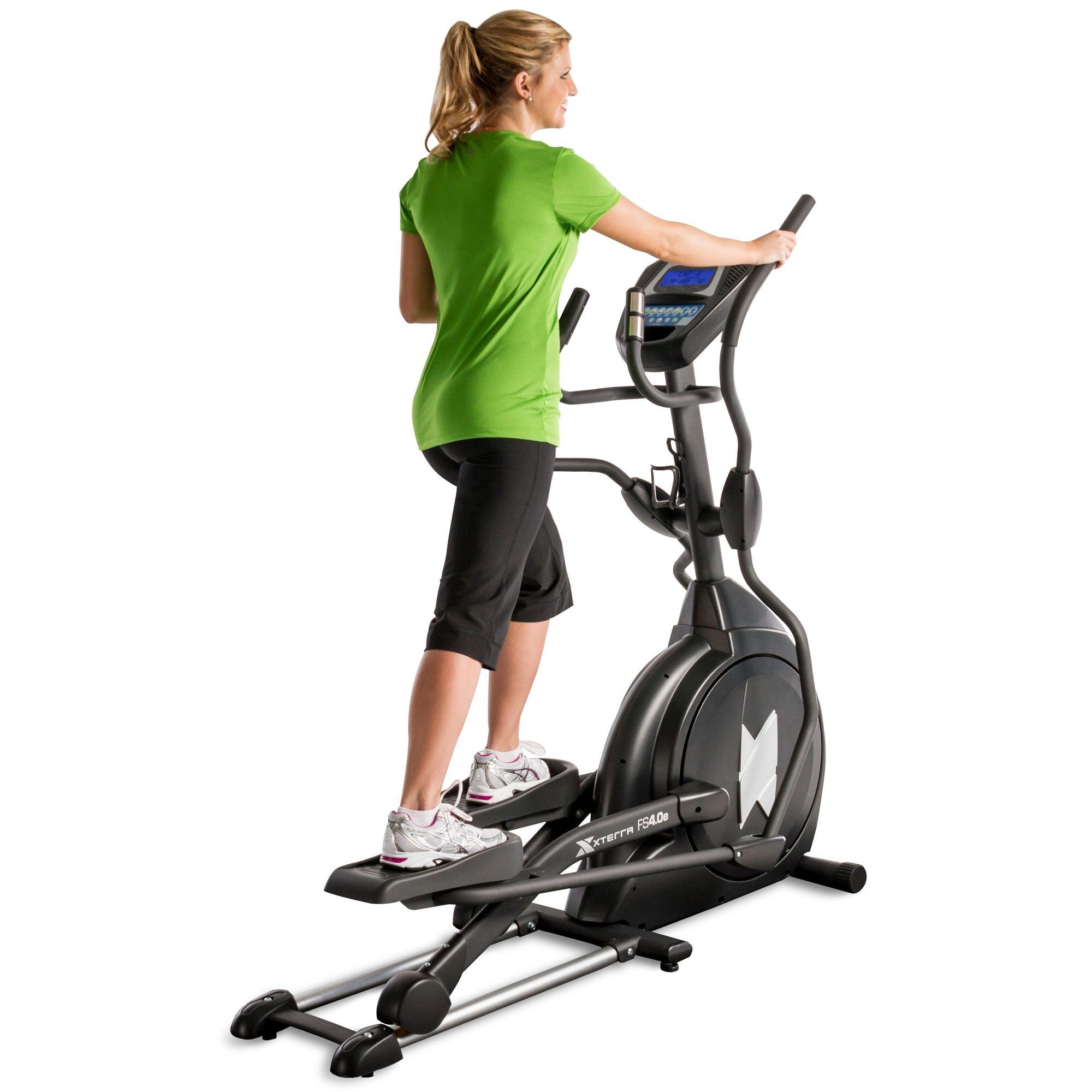 Nordictrack Cross Trainer >> Xterra Free Style 4.0e Elliptical Cross Trainer - Sweatband.com