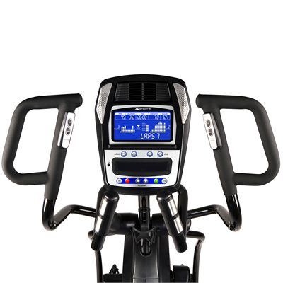 Xterra Free Style 5.8e Elliptical Cross Trainer Front View With Console
