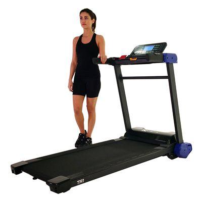 Xterra Trail Racer 1.0 Treadmill Folded - Presentation