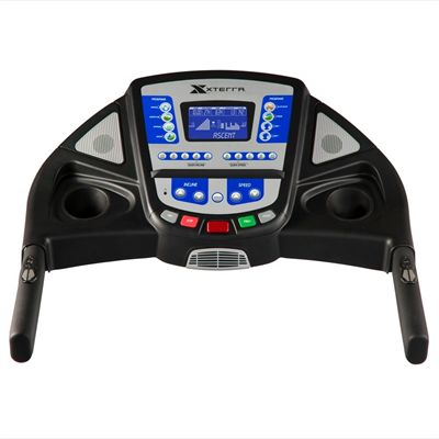 Xterra Trail Racer 6.3 Treadmill - Console