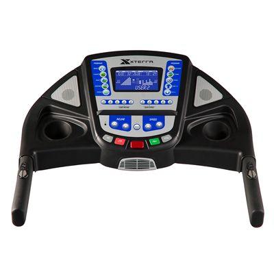Xterra Trail Racer 6.8 Treadmill Console View