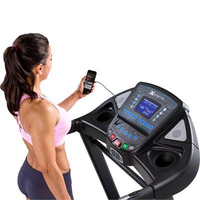 Xterra Trail Racer 600 Treadmill In Use