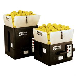 Tennis Tutor Tennis Ball Machine - with Remote Control