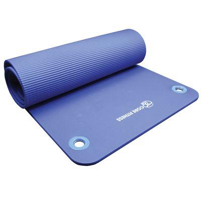 Yoga Mad Core Fitness Eyelet Mat - Folded