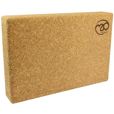 Yoga Mad Cork Yoga Block