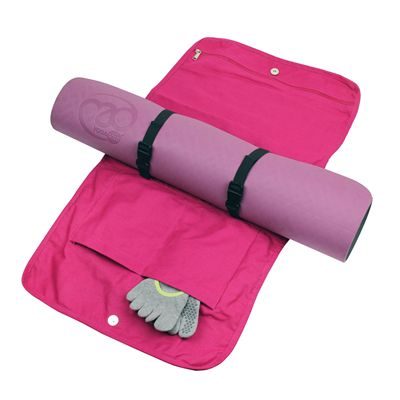 Yoga Mad Cotton Yoga Mat Carry Bag - Open