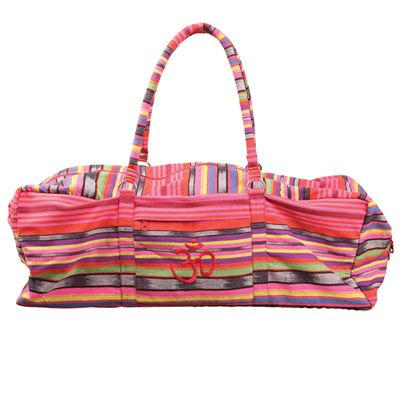 Yoga Mad Deluxe Yoga Kit Bag-Pink