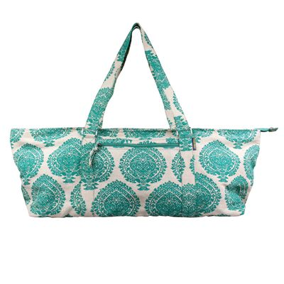 Yoga Mad Deluxe Yoga Prop Bag-Green