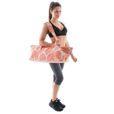 Yoga Mad Deluxe Yoga Prop Bag-Orange-Additional Image