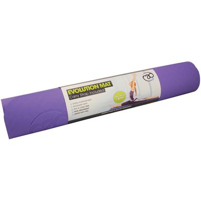 Yoga Mad Evolution Yoga Mat 4mm-Purple-Grey
