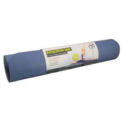 Yoga Mad Evolution Mat Deluxe 6mm - Blue