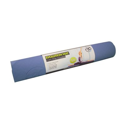 Yoga Mad Evolution Yoga Mat - Blue Colour