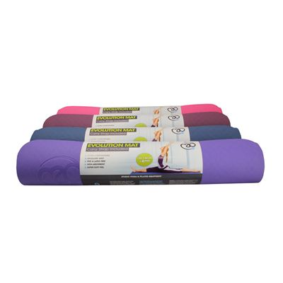 Yoga Mad Evolution Yoga Mat - Front View
