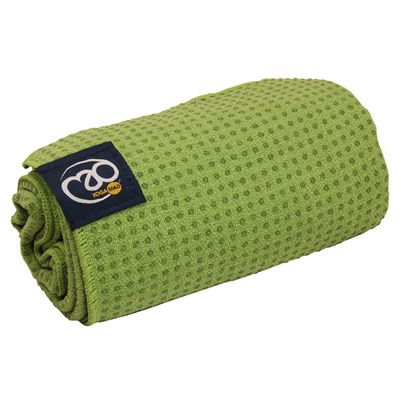 Yoga Mad Grip Dot Yoga Mat Towel 2014 - Lime