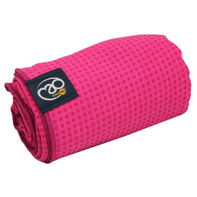 Yoga Mad Grip Dot Yoga Mat Towel 2014 - Pink
