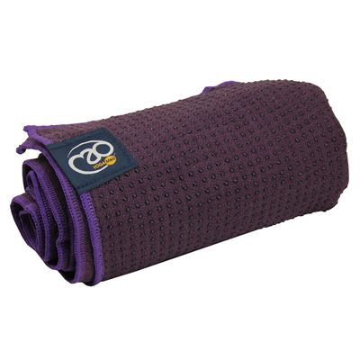 Yoga Mad Grip Dot Yoga Mat Towel 2014  - Purple